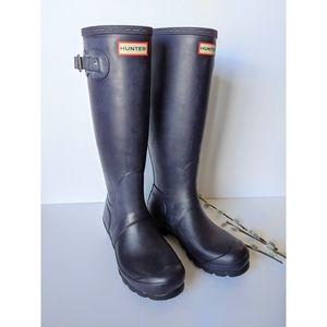 Hunter tall boots + socks size 7